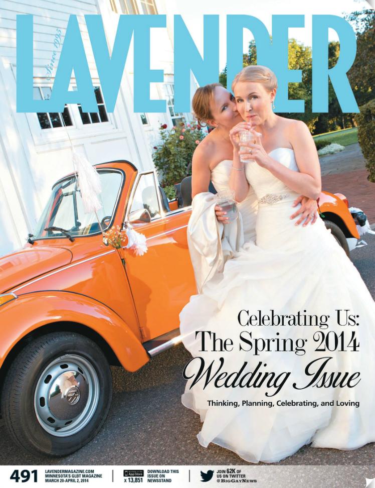 Lavender Magazine Cover
