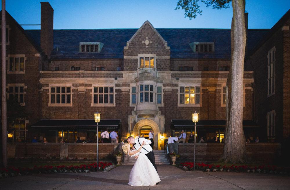 The Newlyweds: Photo by Bryan Blumenschein