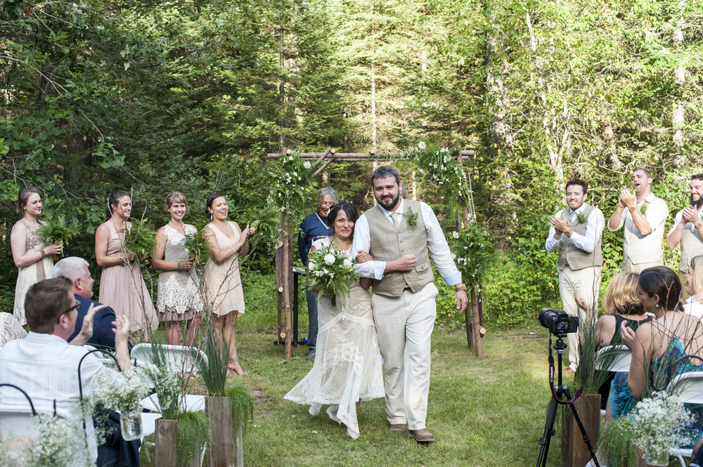 The Ceremony: Photo by Melissa Hesse