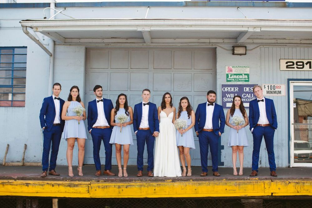The Wedding Party: Photo by Maggie Witter