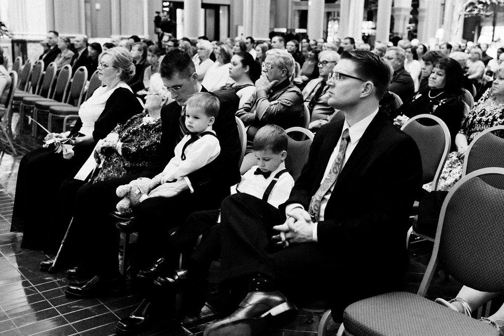 Landmark Center Wedding, St. Paul, MN | Photography by Thea Volk | Rivets & Roses