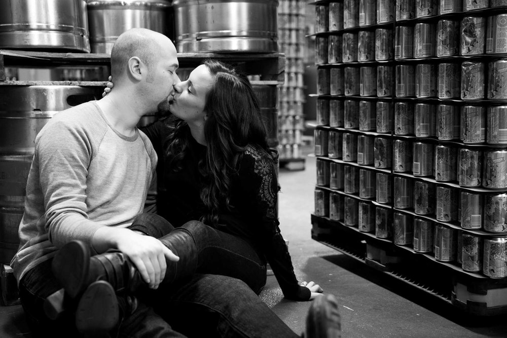 Indeed Brewery engagement session