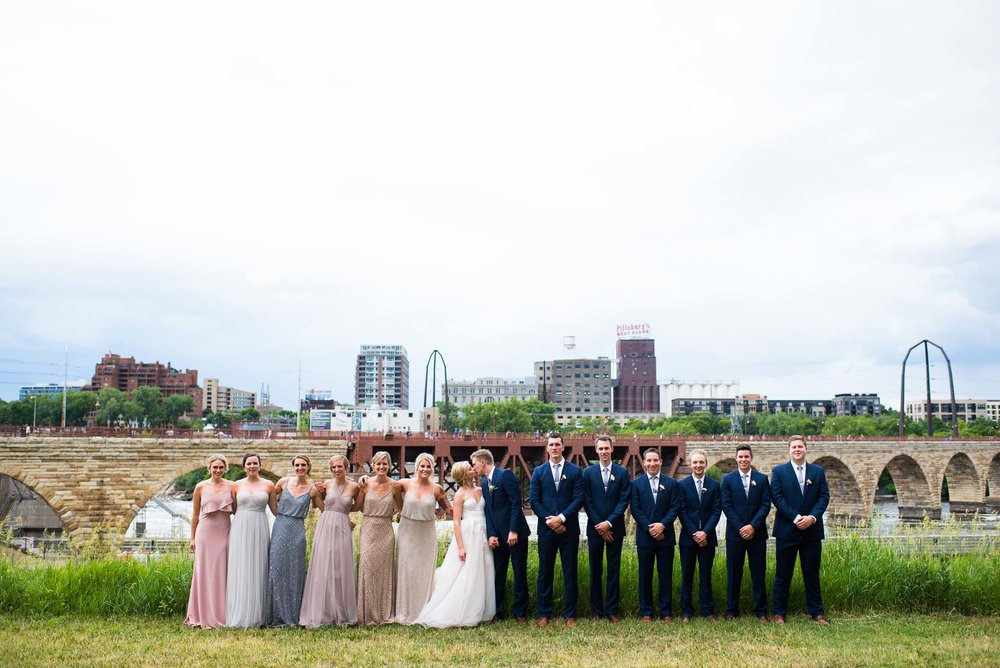 Mill City Museum Wedding Minneapolis, MN | Photography by Jackson Faith | Rivets & Roses