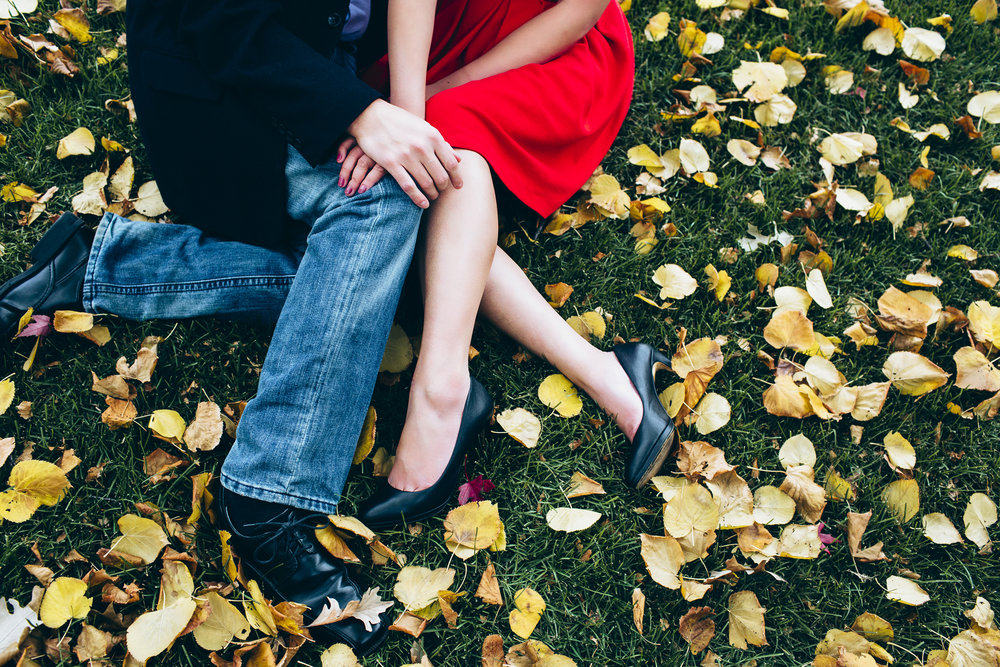 MN Fall engagement Session