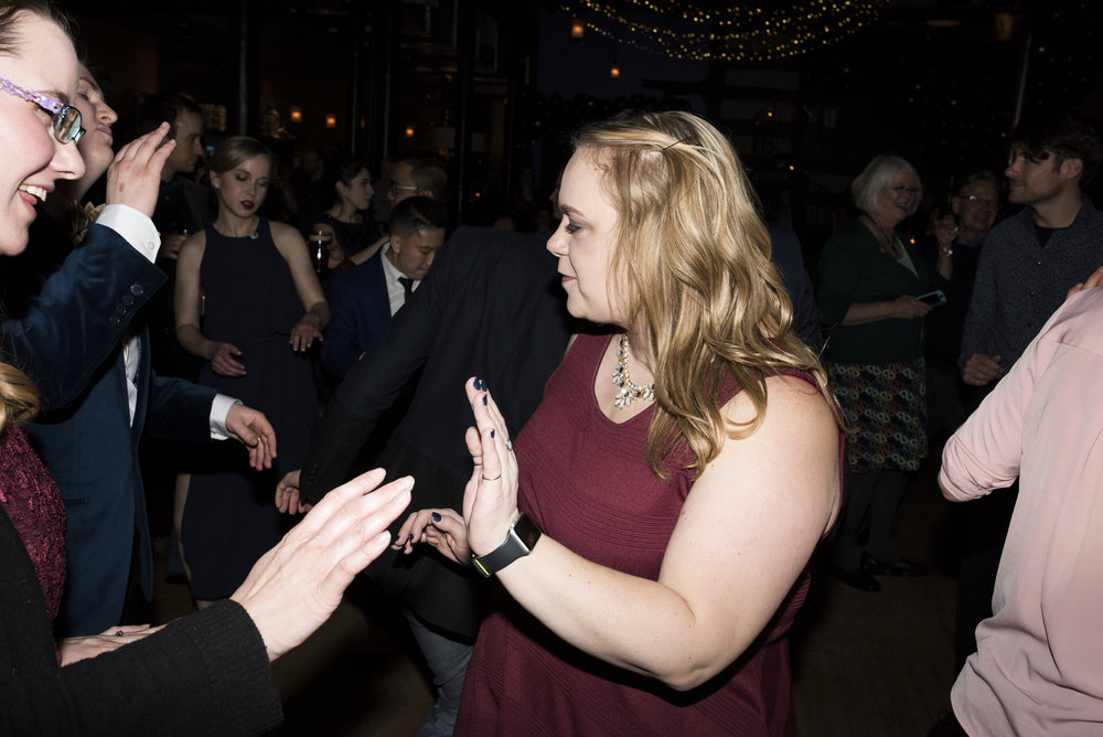 Hygga Wedding Reception Lowertown St. Paul, MN | Photography by Melissa Hesse | Rivets & Roses