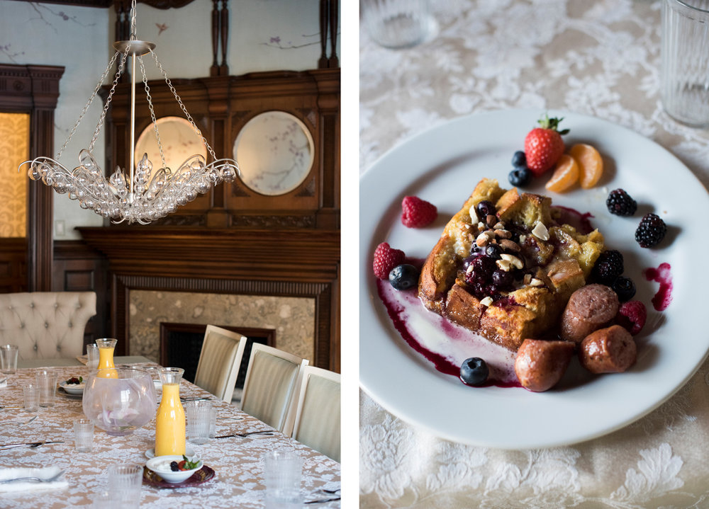 The New Victorian Mansion Bed & Breakfast Wedding | Photography by Melissa Hesse | Rivets & Roses