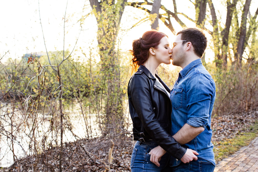 Northeast Minneapolis Engagement Sessions | Photography by Jess Ekstrand | Rivets & Roses