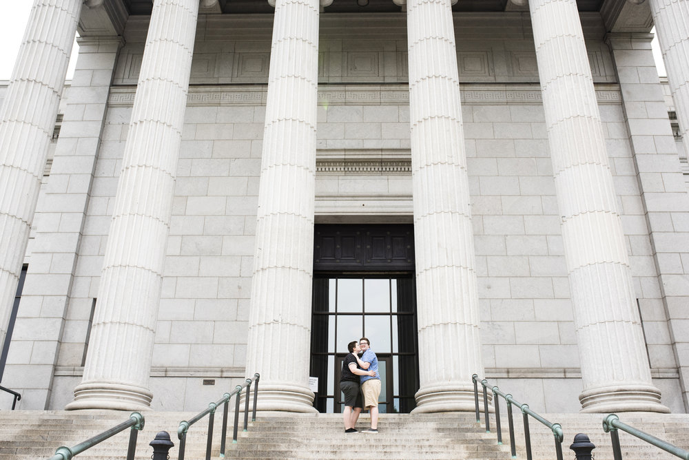 Minneapolis Institute of Art Engagement Session | Photography by Melissa Hesse | Rivets & Roses