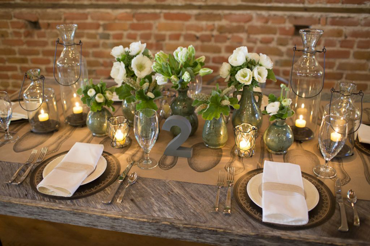 Wedding Tablescape by Pressed Cotton