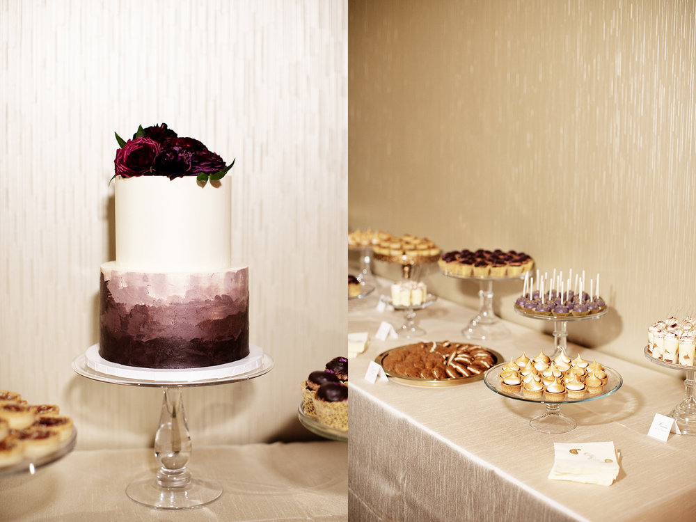 Wedding Cake and Desserts | Minneapolis Wedding Photos | Photography by Photogen Inc. | Eliesa Johnson | Luxury Wedding Photography Based in Minnesota