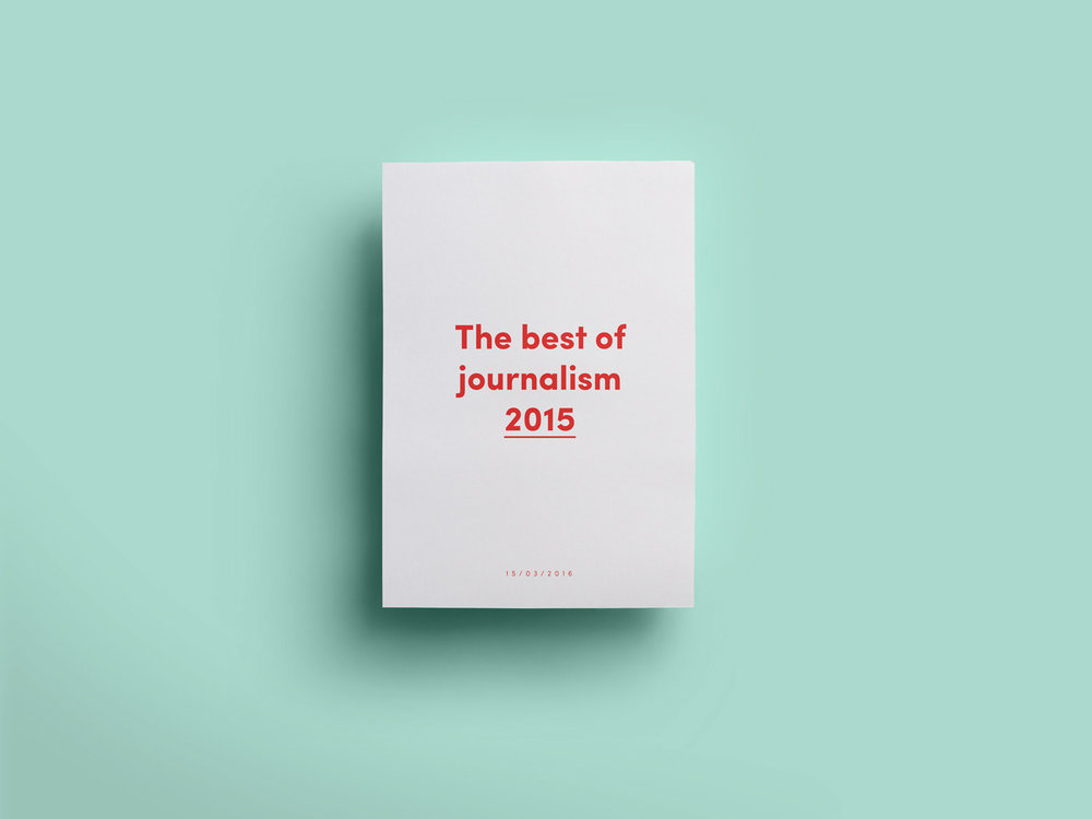 Suuri Journalistipalkinto 2015