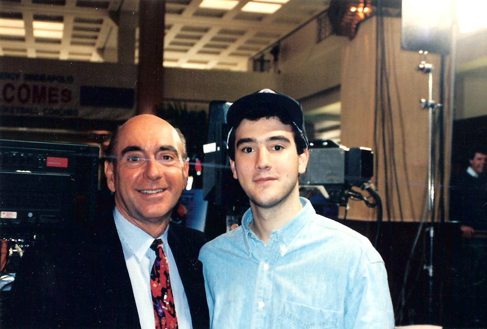 Dick Vitale and Me at the Final Four – April 1992