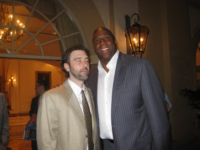 Magic Johnson and Me – May 2010