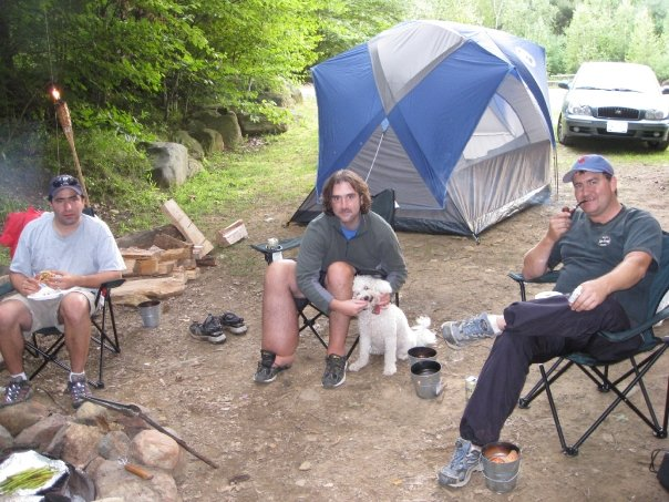 My leg can swell up to 3-4x the size of a normal leg because of Lymphedema, which can cause extremely painful situations. This was on a camping trip in August of 2009.