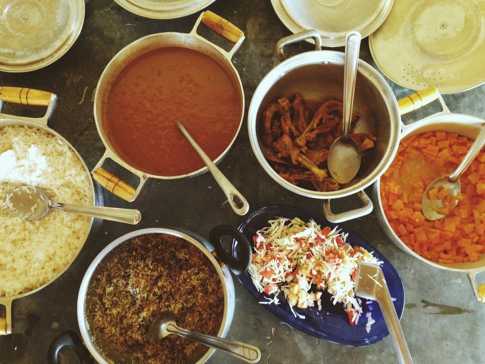Comidinha caseira na casa da Eva | Quilombo dos Kalungas - Cavalcante, GO.