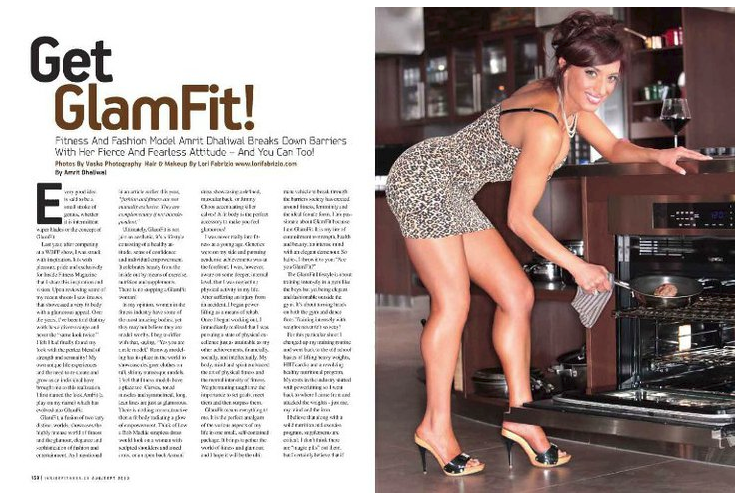 Published in Inside FItness Magazine
