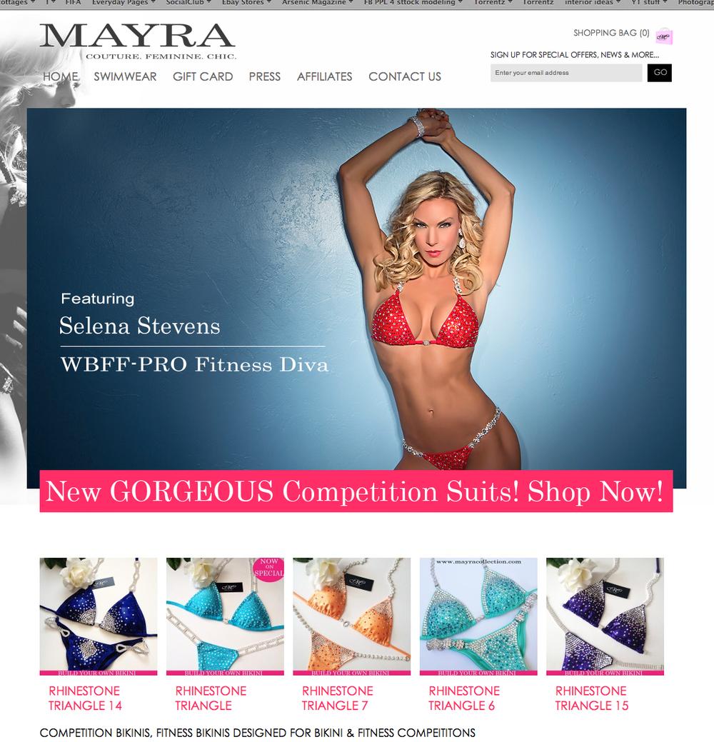 Mayra Bikini Studio V Photography Toronto