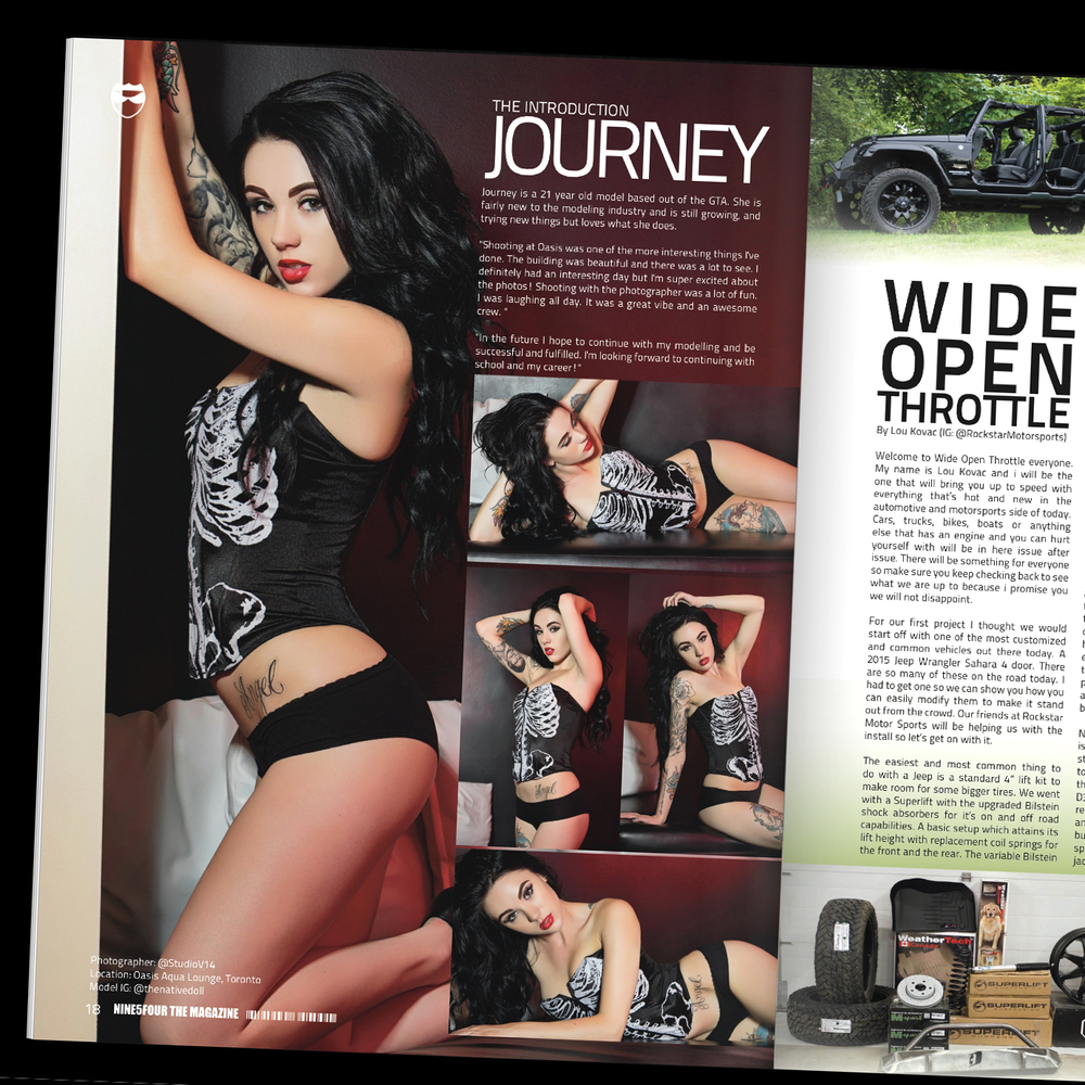 Studio V Photography Nine5Four Canada Magazine