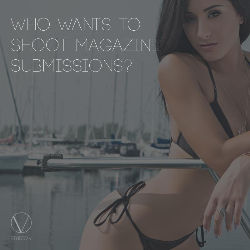 Studio V Photography Magazine Shoot.