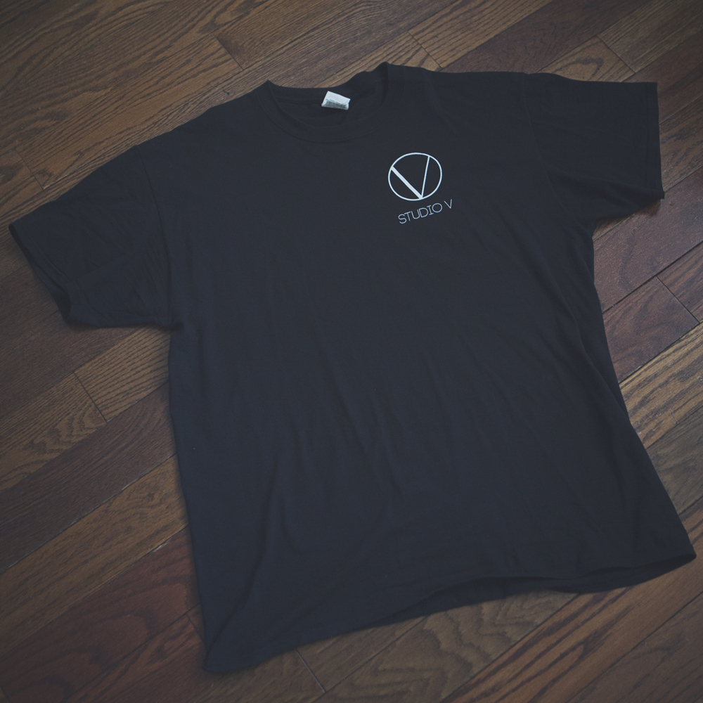 Studio V Photography T-Shirt black