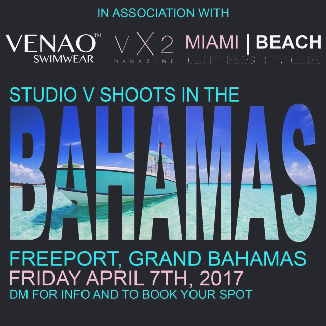 Studio V Photography Bahamas Photographer VX2 Magaine SEO