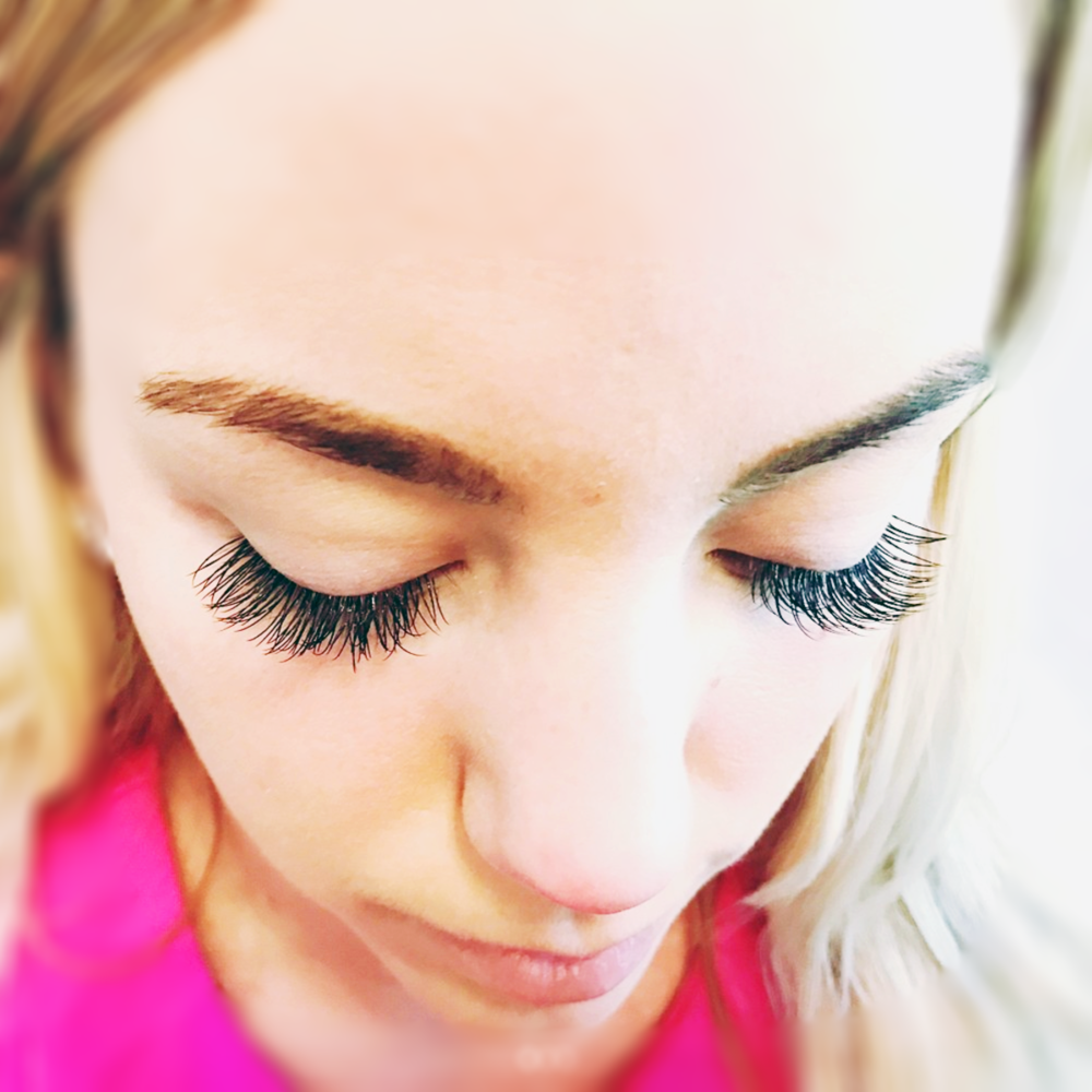 It's un-ladylike not to have lovely lashes. -