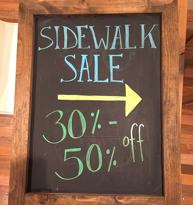 Stop by to take part in the annual Park Ridge Sidewalk Sale! All sunglasses and Persol frames are 30% off. But that's not all! Select Persol frames are 50% off as well. Hurry in before the sale ends #optometry #optical #optique #uptownfamilyvision #ufv #parkridge #uptownparkridge #shoplocal #shopsmall #tasteofparkridge #sidewalksale