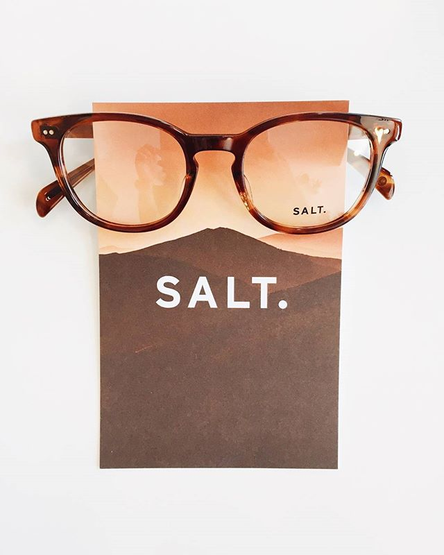 Friday frame of the week! This week's frame is the stylish Butterscotch Quint from the @saltoptics line. These glasses boast the trendy rounded frame look that are becoming ever more popular. As with all SALT. frames, they are designed in California while handcrafted in Japan. SALT. OPTICS #optometry #optical #optique #uptownfamilyvision #ufv #parkridge #uptownparkridge #shoplocal #shopsmall #saltoptics #fridayframeoftheweek