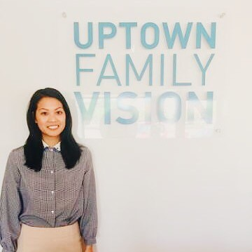 Meet Dr. Tiffany Tang! She's our interim optometrist while Dr. Nham is on maternity leave! Dr. Tang grew up in Oak Brook, IL and graduated from Northwestern University in Evanston, IL. She attended the same optometry school as Dr. Nham, The Southern College of Optometry, and just graduated in May of this year.  She has extensive training in adult primary care, ocular disease, pediatric optometry, and vision therapy. When Dr. Tang is not busy in the office, she enjoys trying new restaurants and taking care of her air plants. She is here for all your vision needs and is happy to go the extra mile for you and your family! Feel free to stop by and meet her on Tuesdays, Fridays and Saturdays. #optometry #optical #optique #uptownfamilyvision #ufv #parkridge #uptownparkridge #shoplocal #shopsmall #optometrist