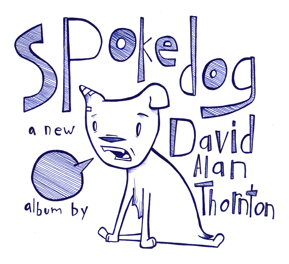 Spokedog Sticker design by Matt McClure