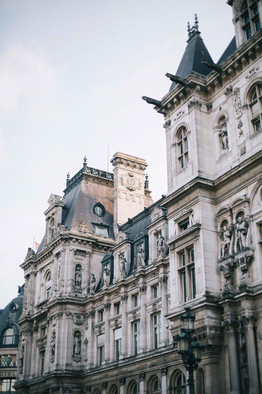 Hotel de Ville, Paris photographer