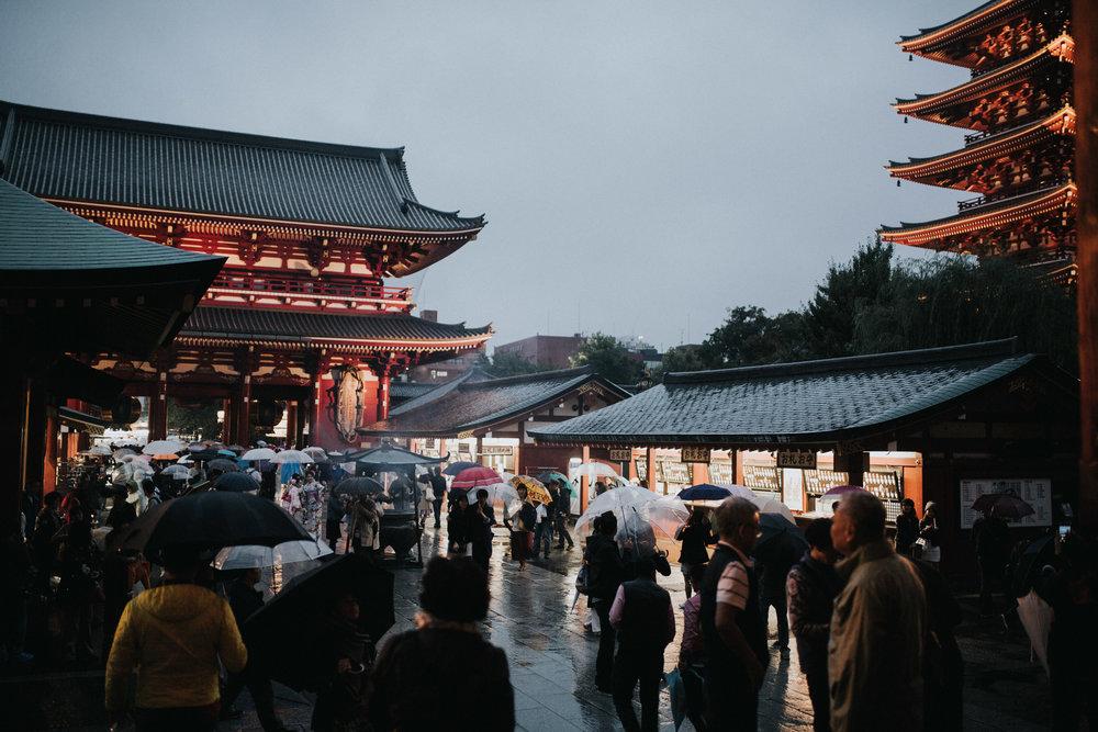 Asakusa Senso-Ji Temple in Tokyo