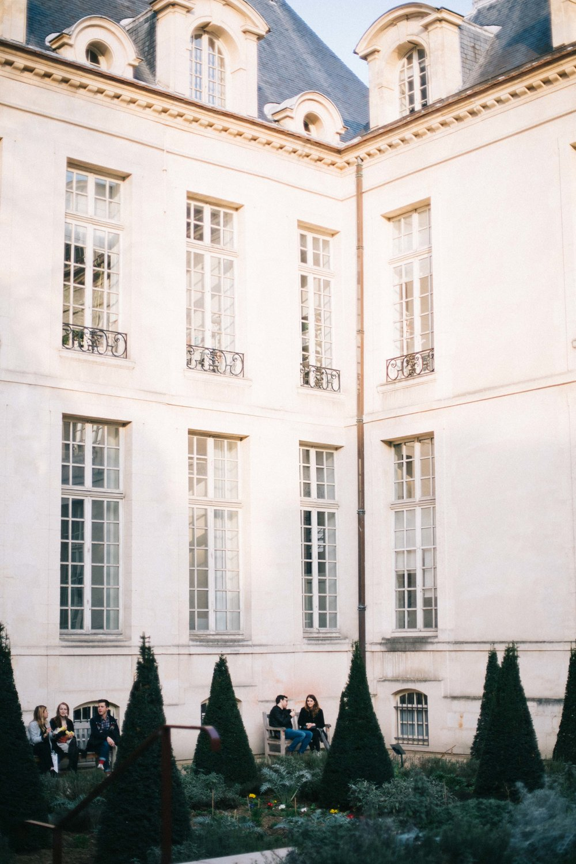Charlotte Margot Photography Parisian Architecture: Courtyard