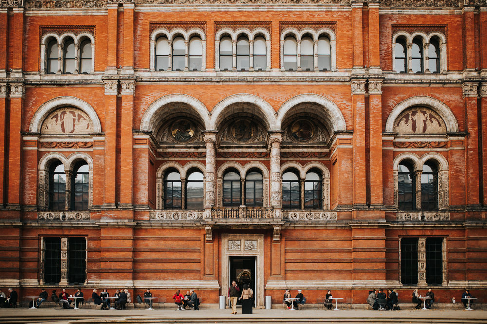 London Travel Photography - Victoria and Albert Museum - Balencia Exhibit