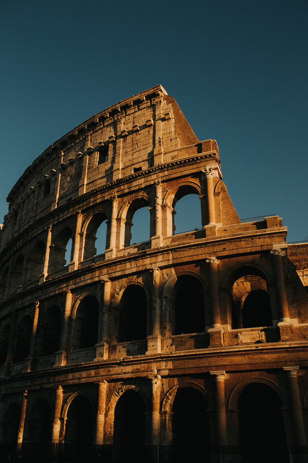 Italy - Rome Travel Photography Coliseum