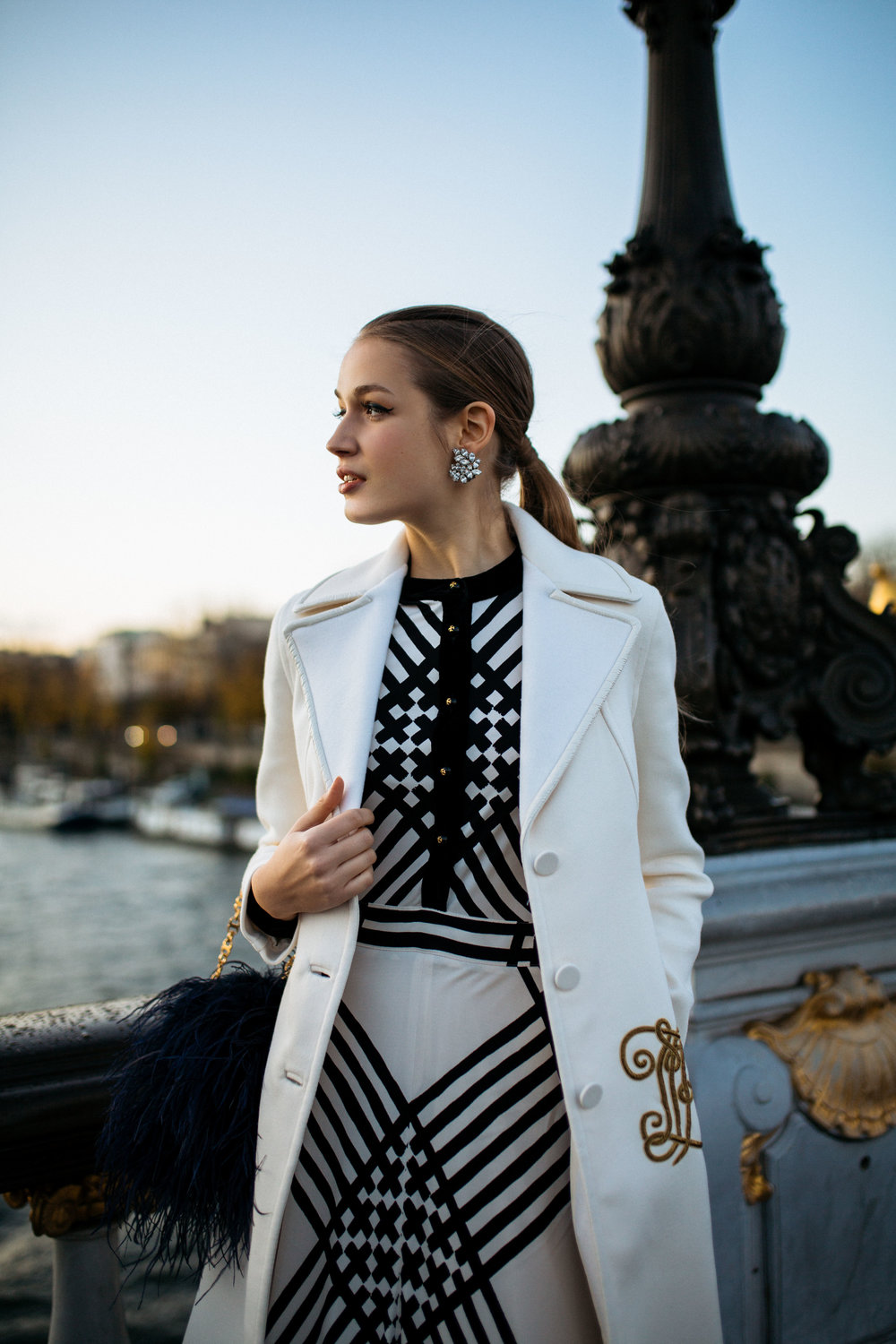 Tory Burch Paris Holiday Fashion Photography