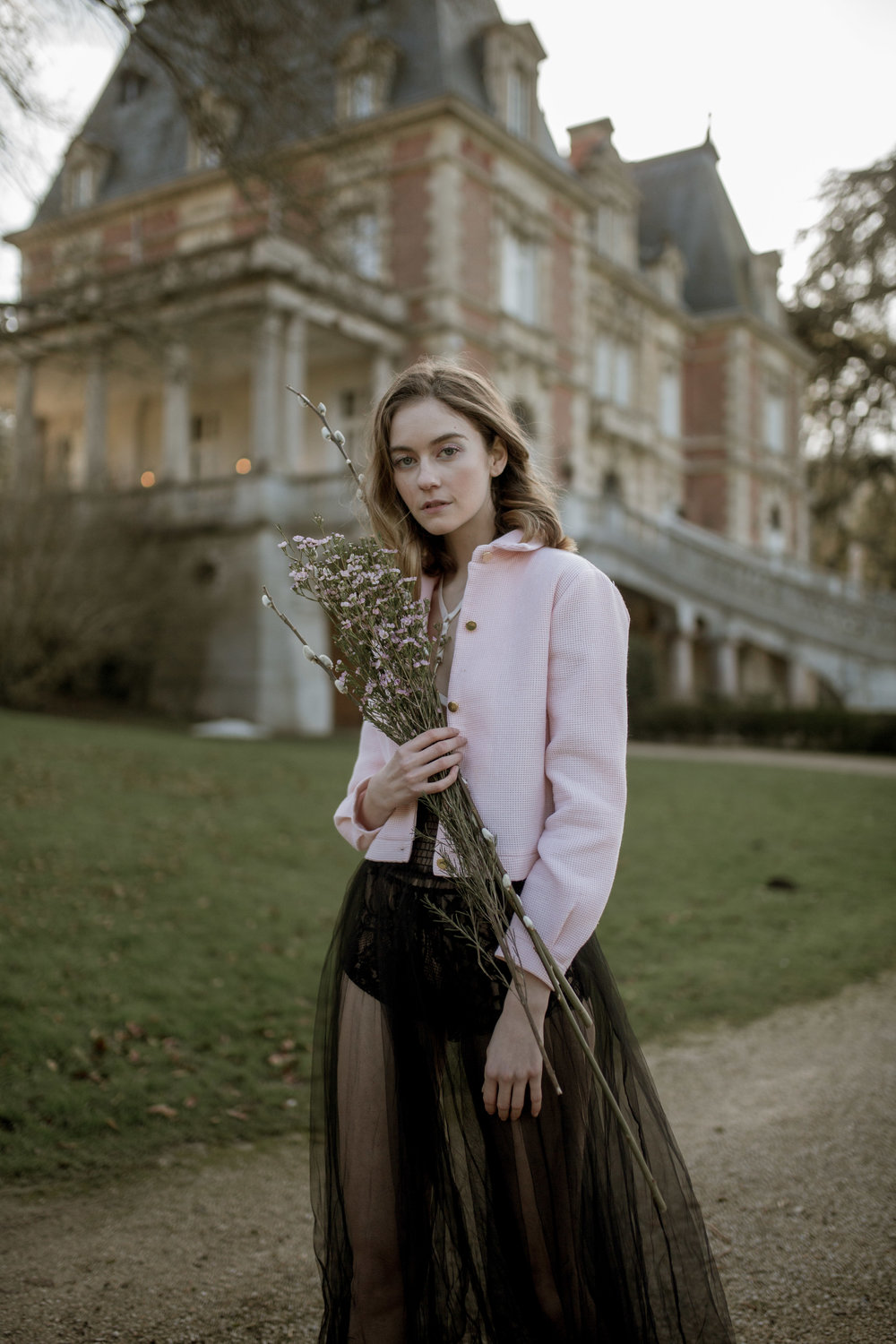 Chateau Bouffemont Fashion Editorial Photography by Charlotte Bergan