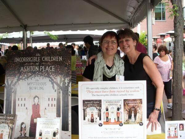 Princeton Book Fest, MRW & Deb Robl.jpg