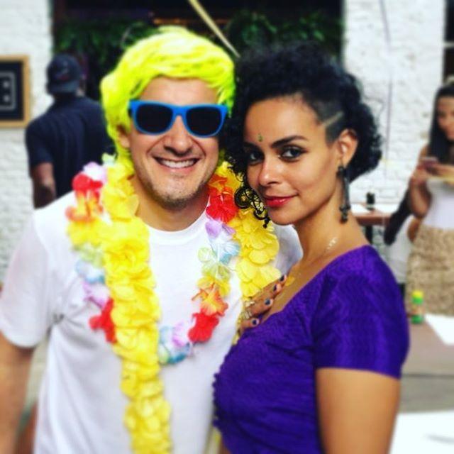 E hoje é dia de folia!!! 🎭✨🧡 #carnaval2018  #carnavalemsp #indiamood @confrariadopasmado