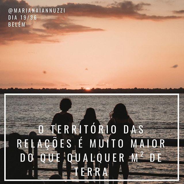 Somos feitos da terra e não de territórios delimitados. Somos fluxo, transitando de um lugar para outro, sempre em relação, somos um com o outro, um com o todo, somos todos um. _____ 📷 @fernandomarrera _____ no horizonte das docas, Belém do Pará. _____ #dia19/36 #diariodeviagem #belemdopara #belem #estacaodasdocas #relacoes #humanidade #viajandopelobrasil #instatrip #frasesinspiradoras #instravel #travelblogger #traveldeeper #brazil