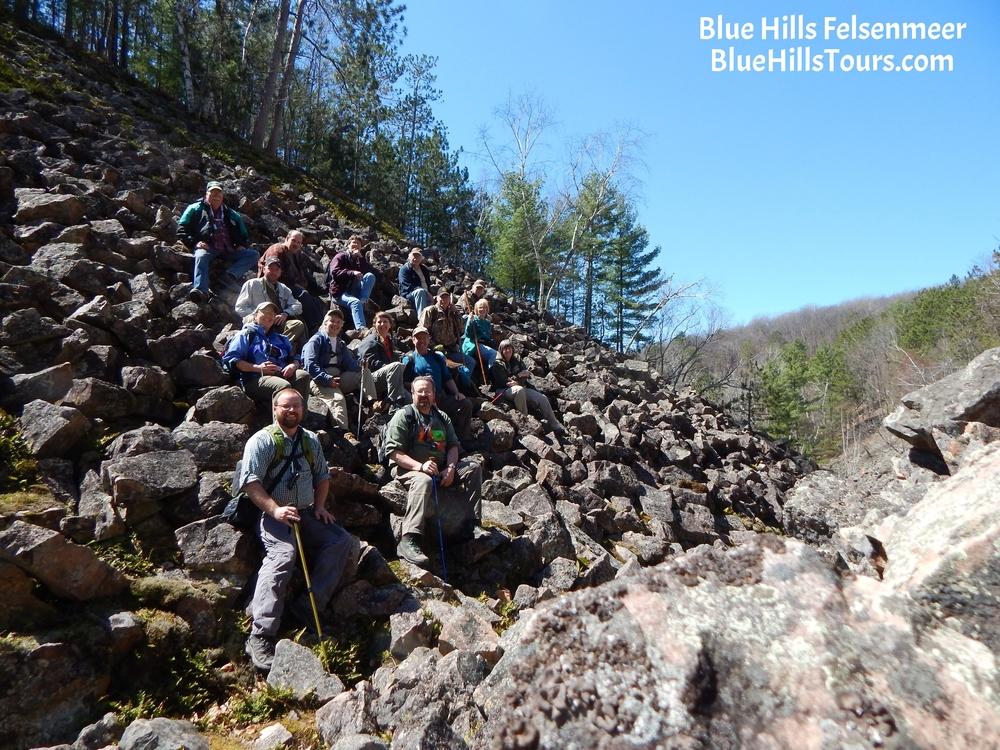 Blue Hills Felsenmeer