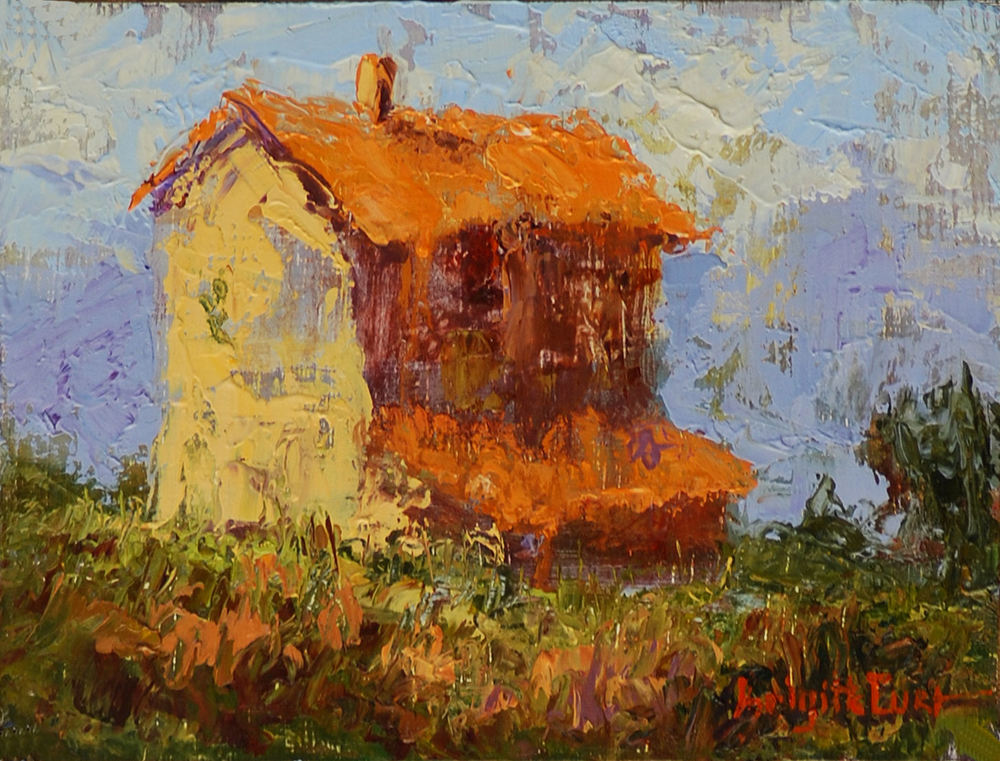 SOLD  The Lone Farm 6 x 8.jpg
