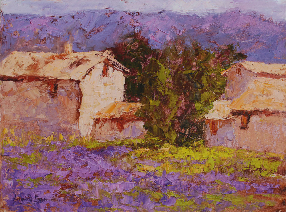 The Edge of the Village  12 x 16.jpg