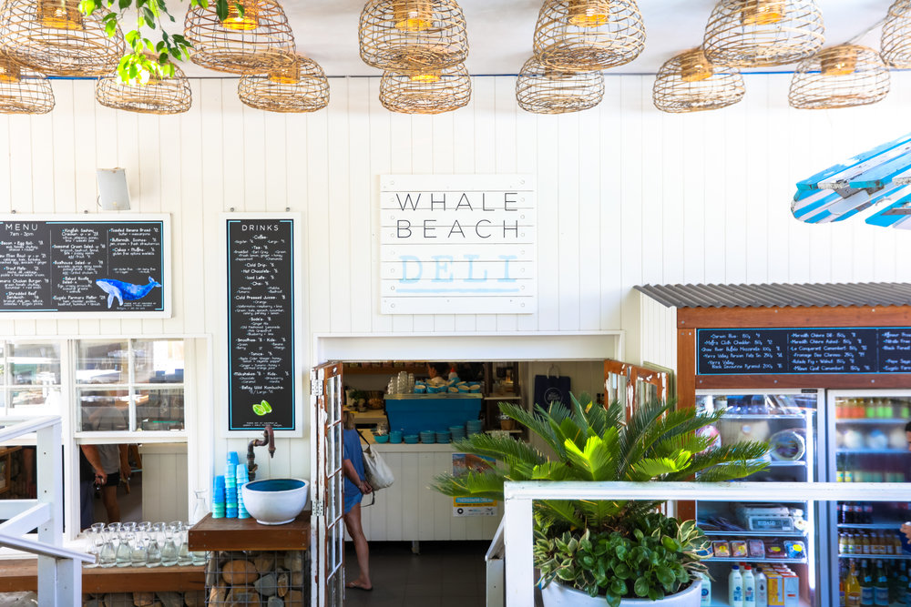 The Whale Beach Deli Menu