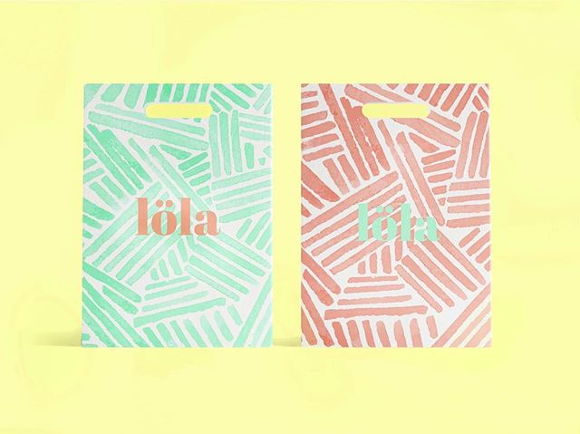 löla shopping bag design in production 🐠 who else gets super excited about the printing & manufacturing process?