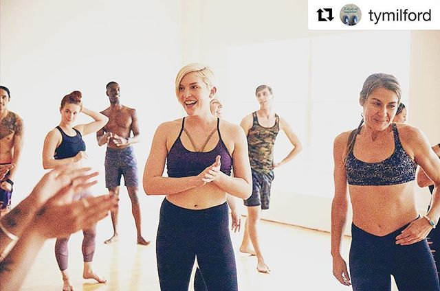 Always such a pleasure having this amazing team at @thestudio.la! Thank you @enproduces and @tymilford repostapp ・・・ That's a wrap on another super fun one with @corepoweryoga !