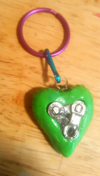 Link to my Heart Pendant Keychain sample  $17 plus shipping. All made custom for orders. Please state color choice in special instructions during order.