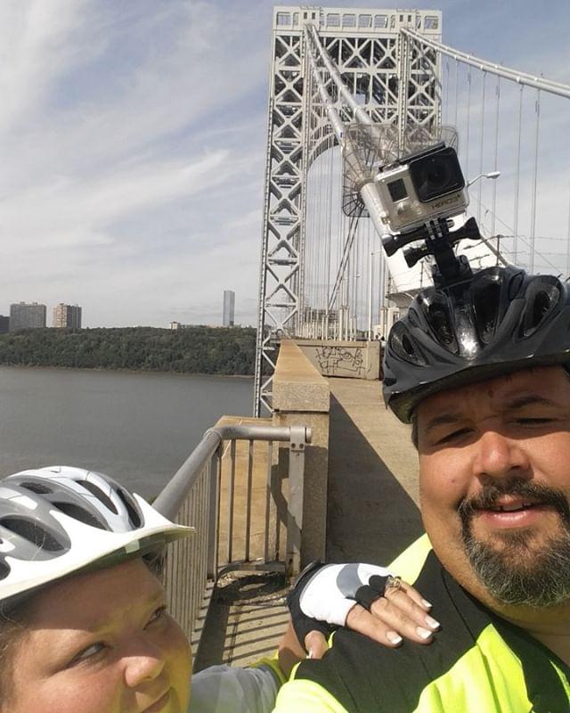 Crossing the GW Bridge NY