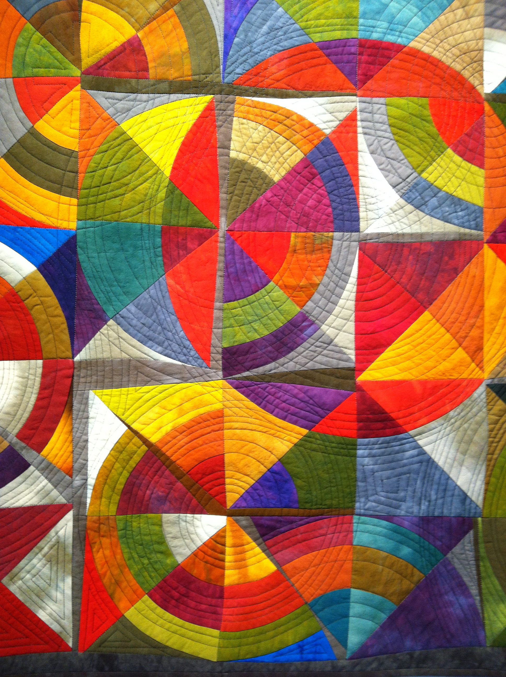 Something Venn-tured, Quilt, Elizabeth Ford-Ortiz
