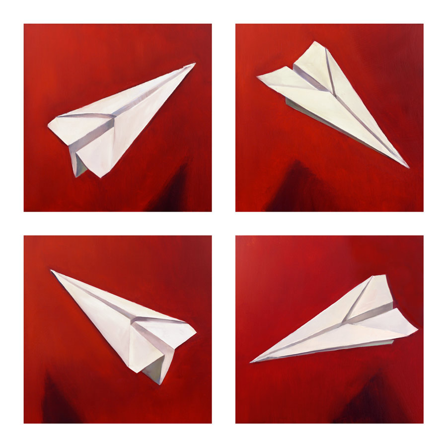 Red Planes, Oil, Jason Waskey